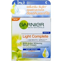 Garnier Light Overnight Whitening Peeling Night Cream